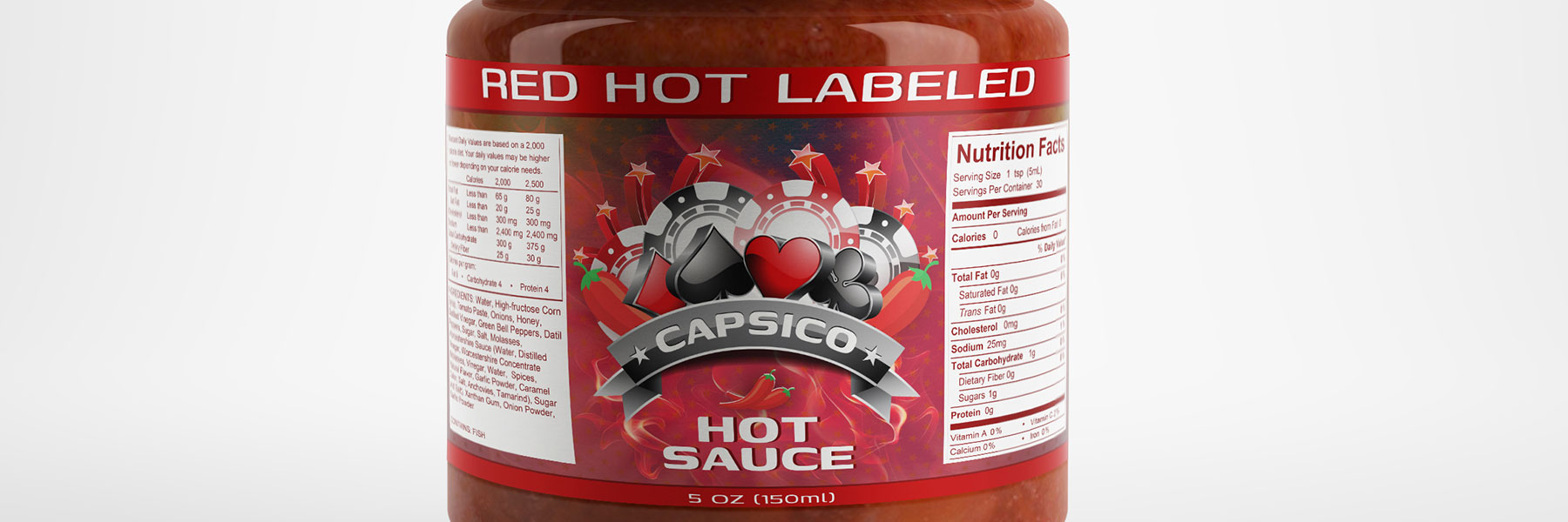 Hot Sauce Lable
