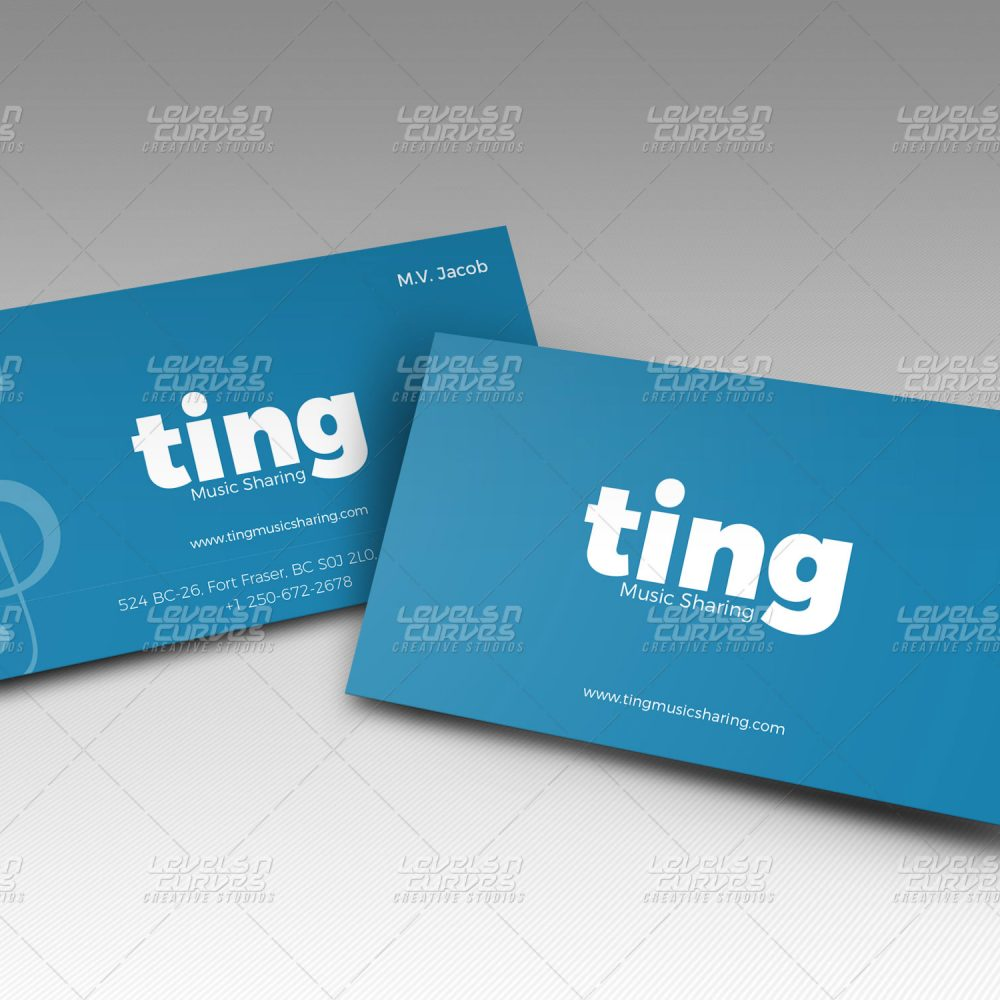 Logo design, business card design